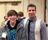 Zach Bryant with Joshua Jay